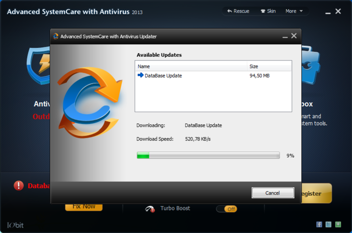 Screenshot 9 of Advanced SystemCare with Antivirus
