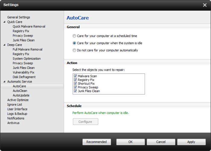 Screenshot 10 of Advanced SystemCare with Antivirus