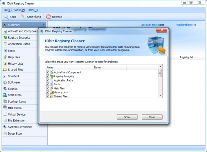 Screenshot 1 of Advanced SystemCare with Antivirus