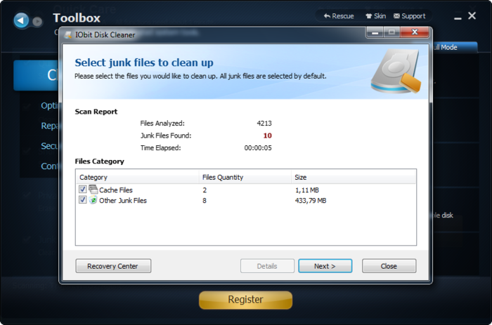 Screenshot 3 of Advanced SystemCare with Antivirus