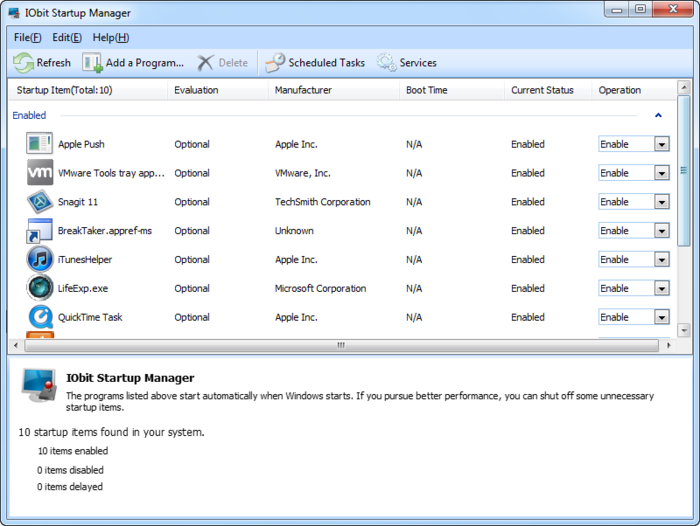 Screenshot 8 of Advanced SystemCare with Antivirus