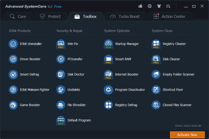 Screenshot 12 of Advanced SystemCare