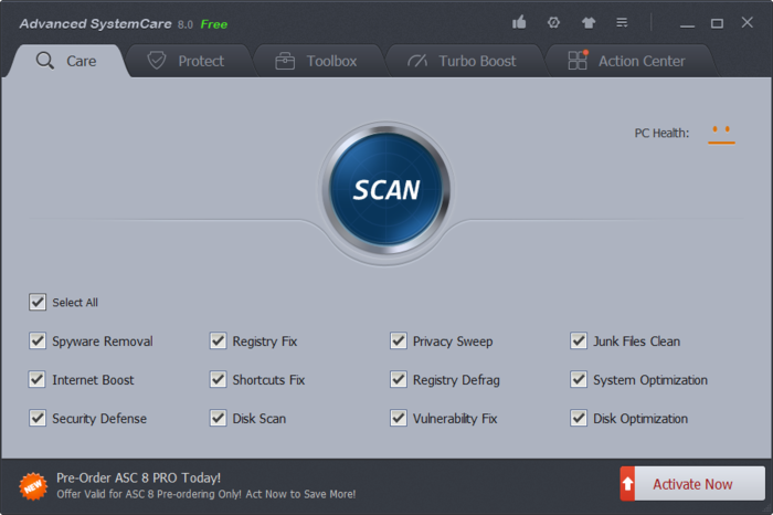 Screenshot 3 of Advanced SystemCare