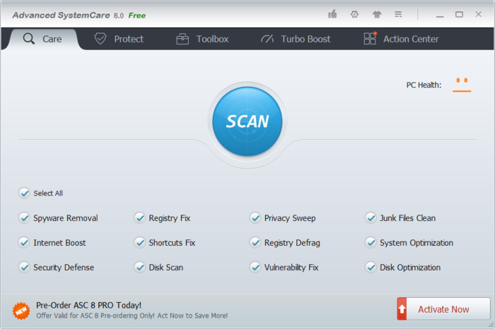 Screenshot 5 of Advanced SystemCare