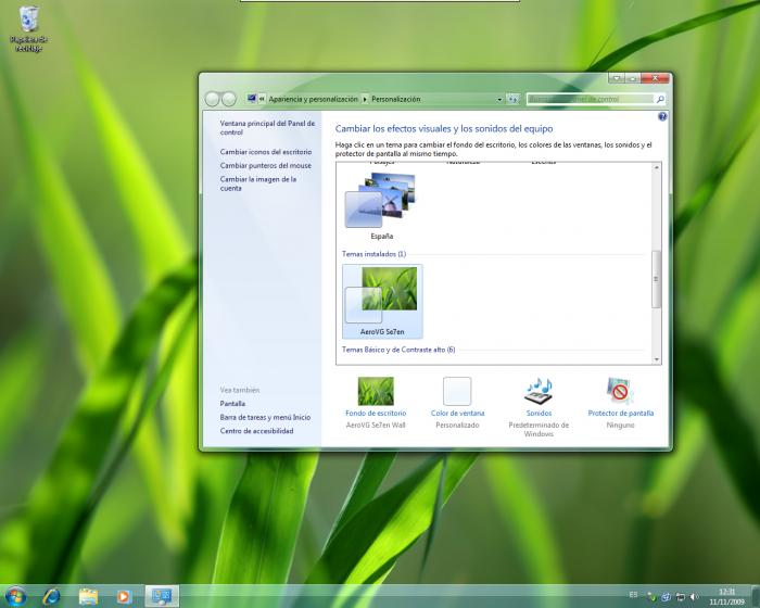 Screenshot 1 of AeroVG Se7en