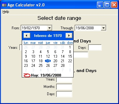 Age calculator youtube.