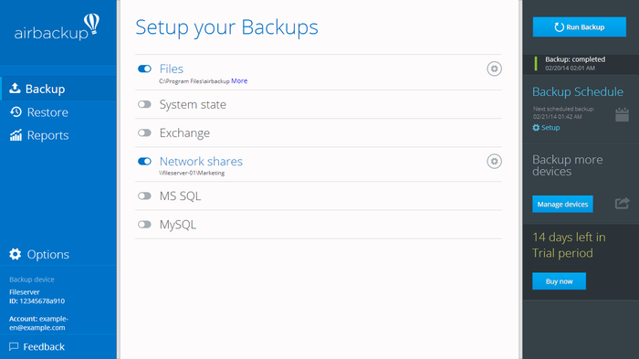 Screenshot 4 of airbackup