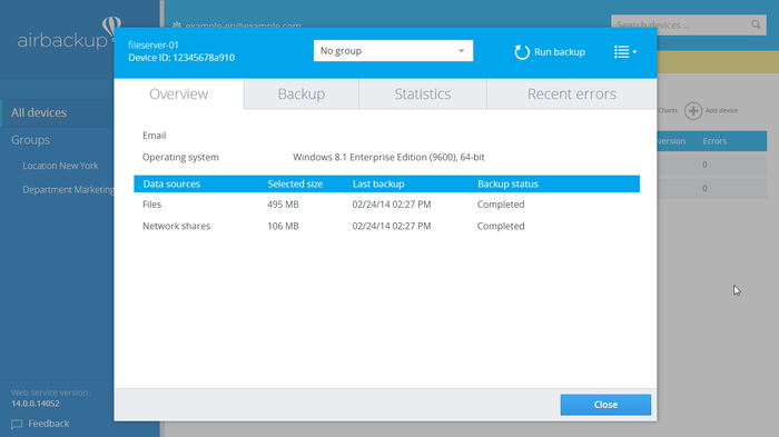 Screenshot 6 of airbackup