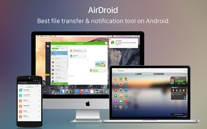 Screenshot 2 of AirDroid Desktop