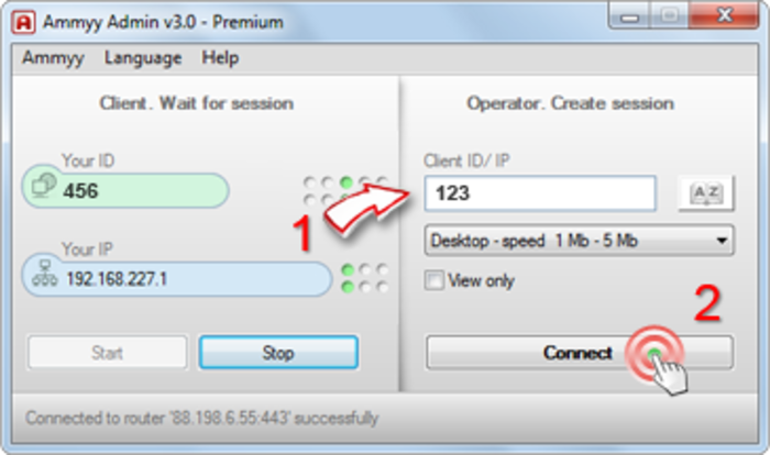 ammyy admin version 3.5 free download for windows xp