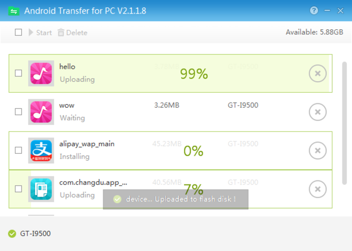 Screenshot 3 of Android Transfer for PC