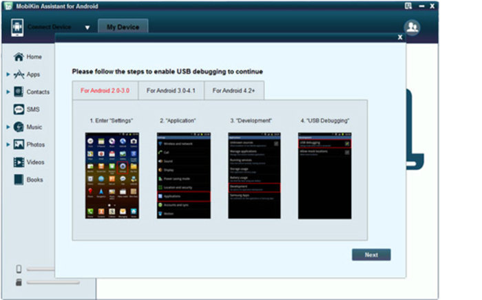 Screenshot 4 of Android Transfer for Windows