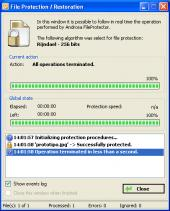 Screenshot 4 of Androsa FileProtector Portable