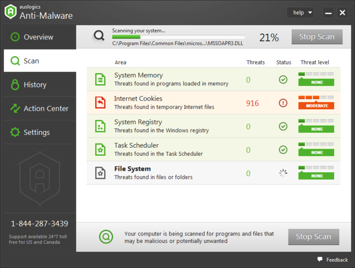 Screenshot 1 of Anti-Malware 2016