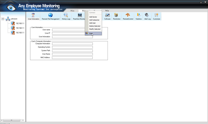 Screenshot 2 of Any Employee Monitoring