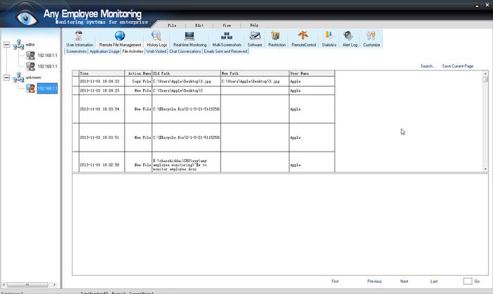 Screenshot 3 of Any Employee Monitoring