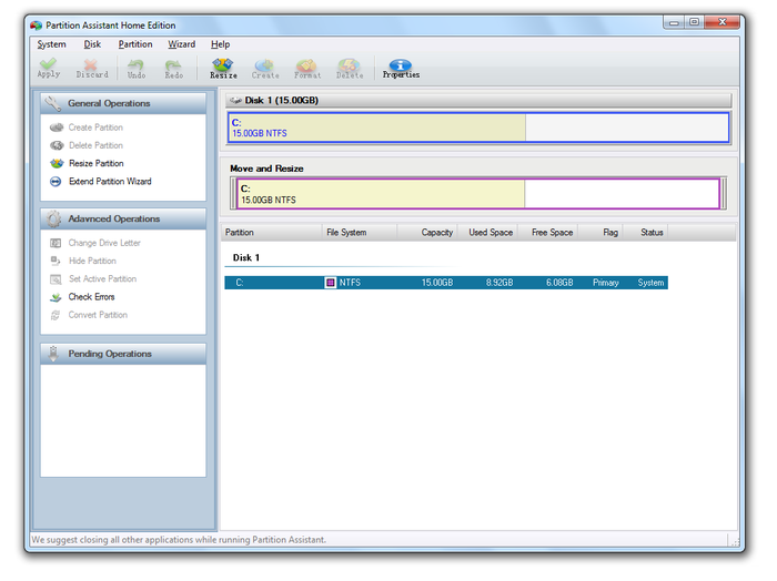 Screenshot 6 of Aomei Partition Assistant