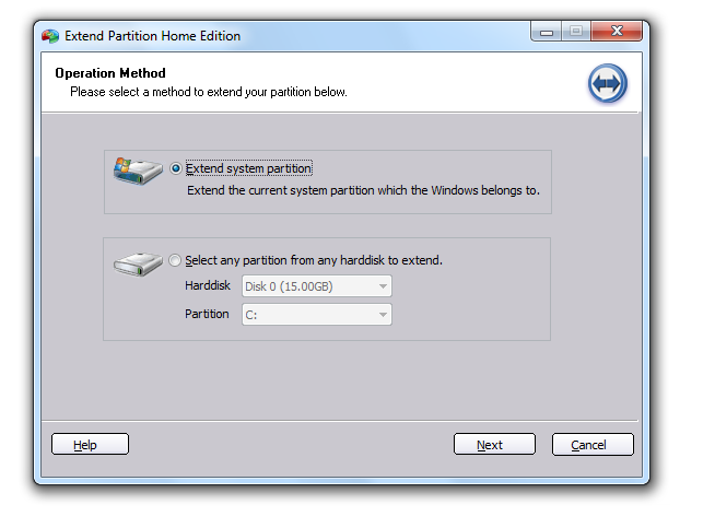 Screenshot 3 of Aomei Partition Assistant