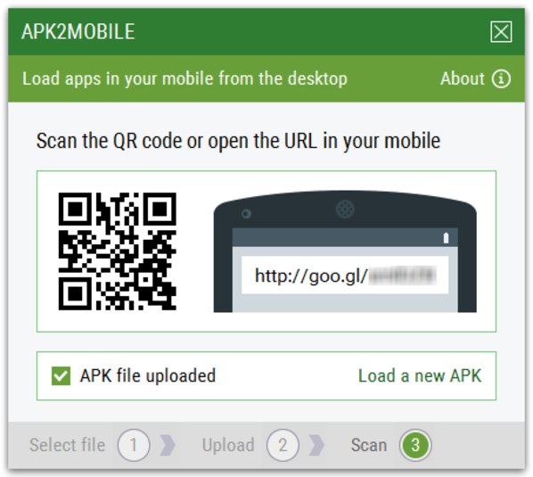 Screenshot 4 of APK2Mobile