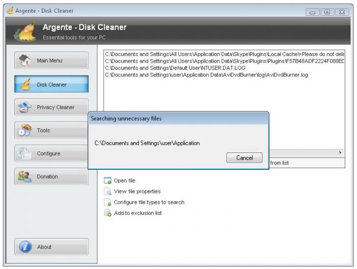 Screenshot 3 of Argente - Disk Cleaner