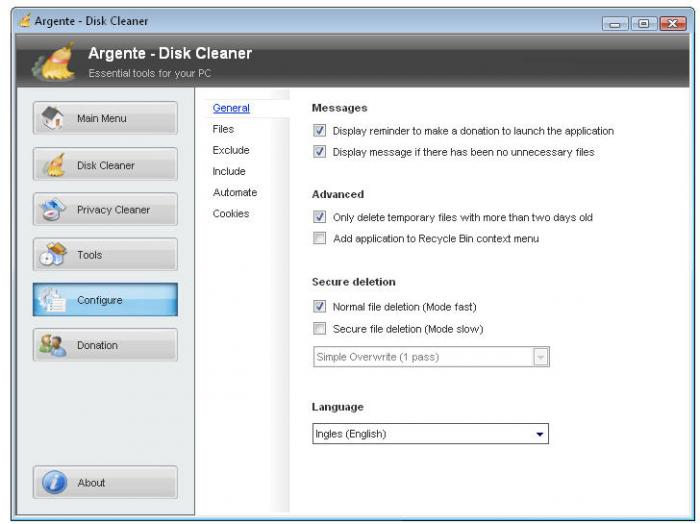 Screenshot 2 of Argente - Disk Cleaner