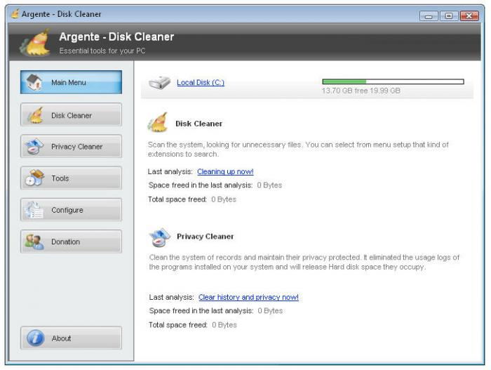 Screenshot 4 of Argente - Disk Cleaner