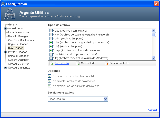 Screenshot 5 of Argente Utilities Portable
