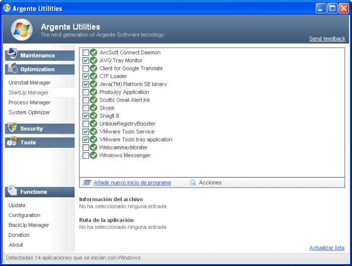 Screenshot 3 of Argente Utilities