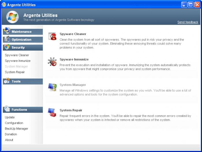 Screenshot 8 of Argente Utilities