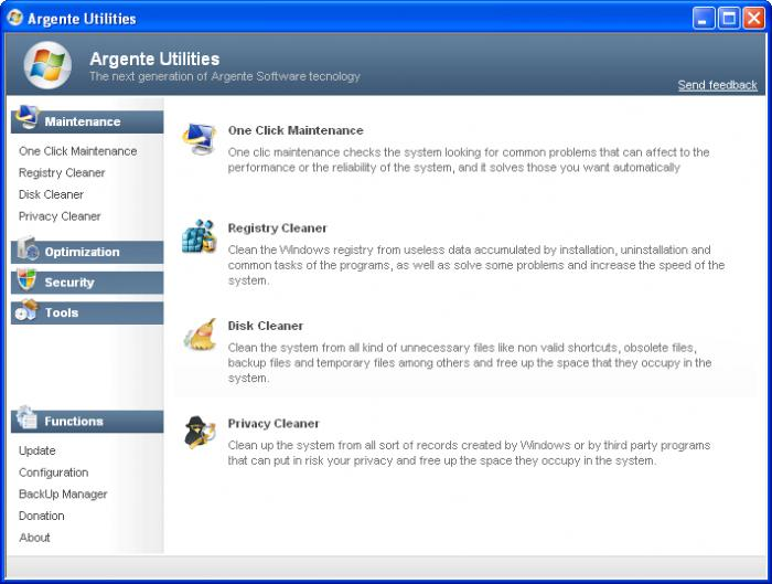 Screenshot 2 of Argente Utilities