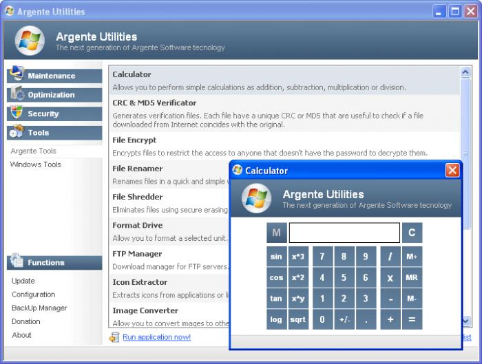 Screenshot 5 of Argente Utilities