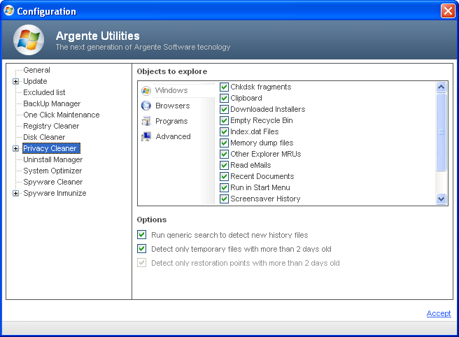 Screenshot 4 of Argente Utilities
