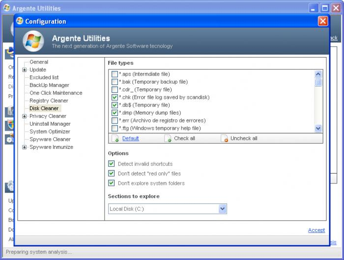 Screenshot 1 of Argente Utilities