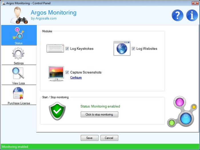 Screenshot 2 of Argos Monitoring