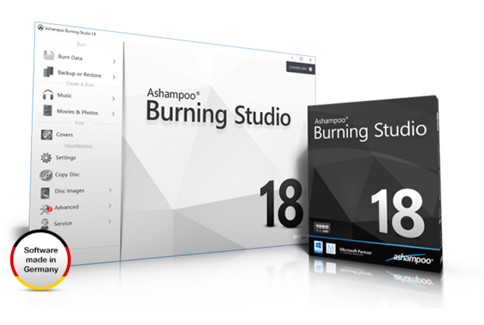 Screenshot 2 of Ashampoo Burning Studio 19