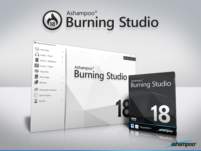 Screenshot 1 of Ashampoo Burning Studio 19