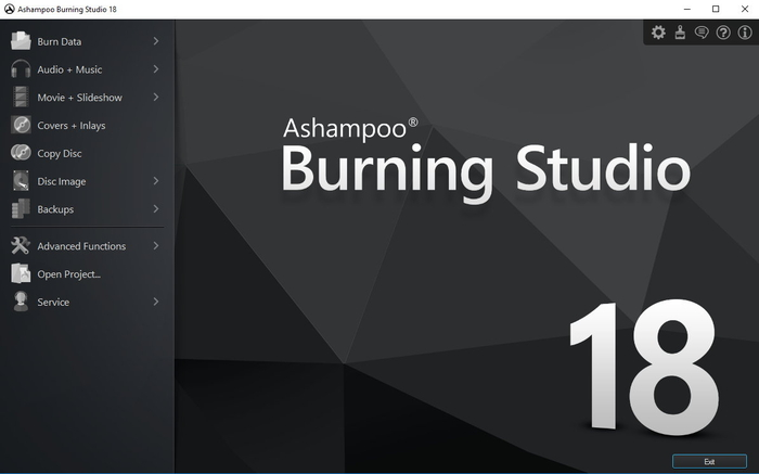 Screenshot 7 of Ashampoo Burning Studio 19