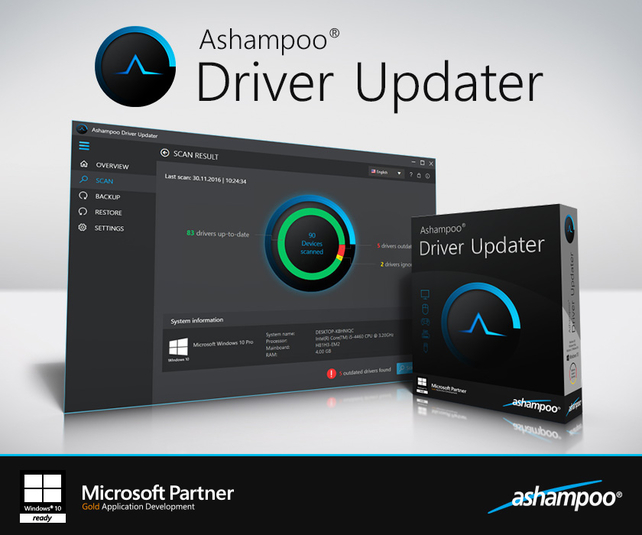 Screenshot 1 of Ashampoo Driver Updater