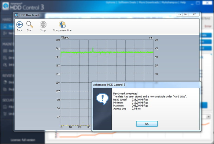 Screenshot 4 of Ashampoo HDD Control