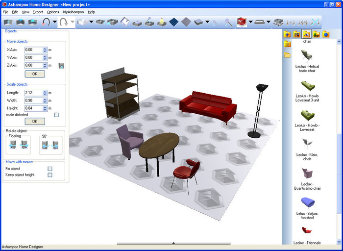 ... Screenshot 5 Of Ashampoo Home Designer ...