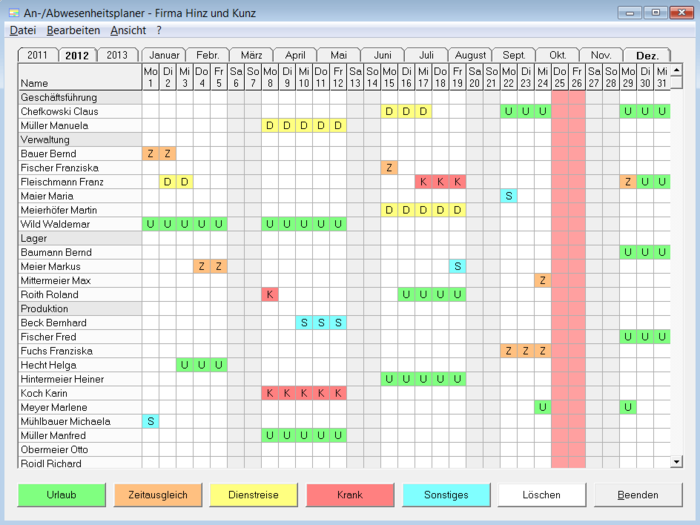 Marvelous ... Screenshot 7 Of Attendance Planner ...
