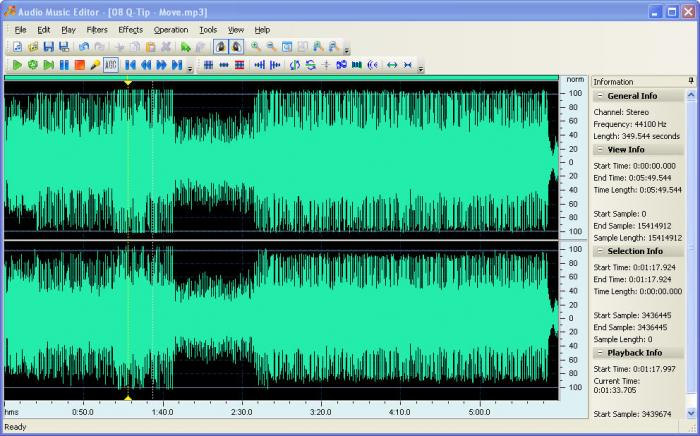 Download Audio Music Editor Free Networkicecom