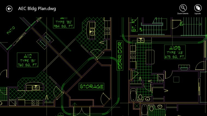 Screenshot 1 of AutoCAD 360