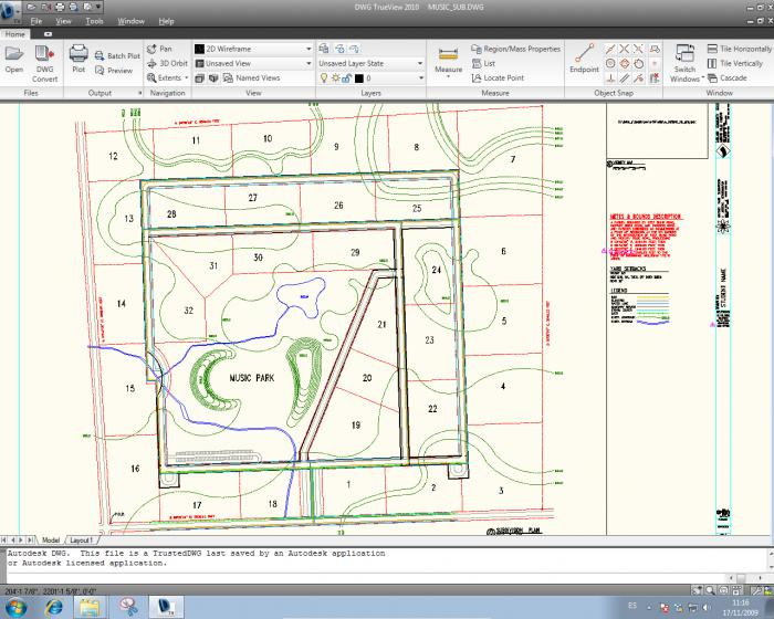 Screenshot 1 of Autodesk DWG Trueview