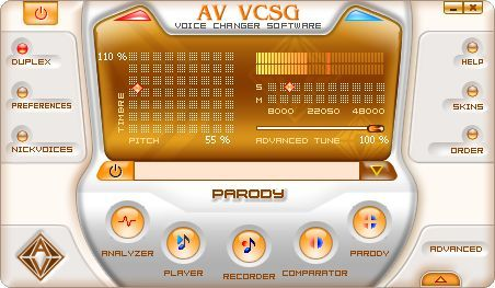 Screenshot 3 of AV Voice Changer Software