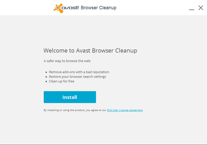 Screenshot 4 of avast! Browser Cleanup