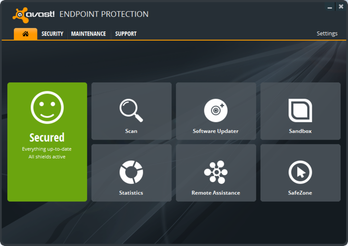Screenshot 4 of avast! Endpoint Protection