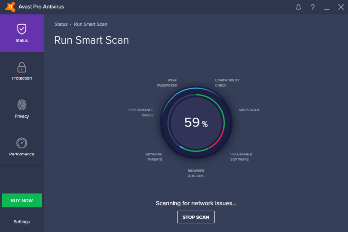 Screenshot 1 of Avast Pro Antivirus