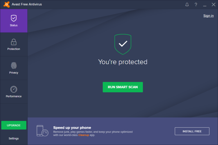 Screenshot 2 of Avast Free Antivirus