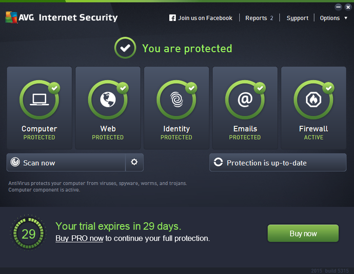 Screenshot 7 of AVG Internet Security - Unlimited